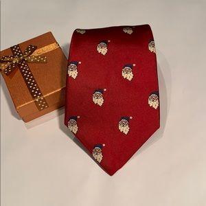 EUC Vintage Red Santa Tie 70's/80's